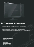 LCD moniter hub station