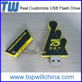Customize PVC Unique Usb Flash Drive 64GB Free Design