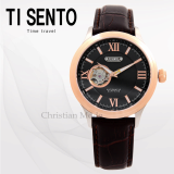TISENTO MECHANICAL WATCH TS50801 SAPPHIRE CRYSTAL WATERPROOF