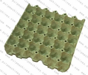 Pulp and paper egg tray from green forest pulp molding co for How to make paper egg trays