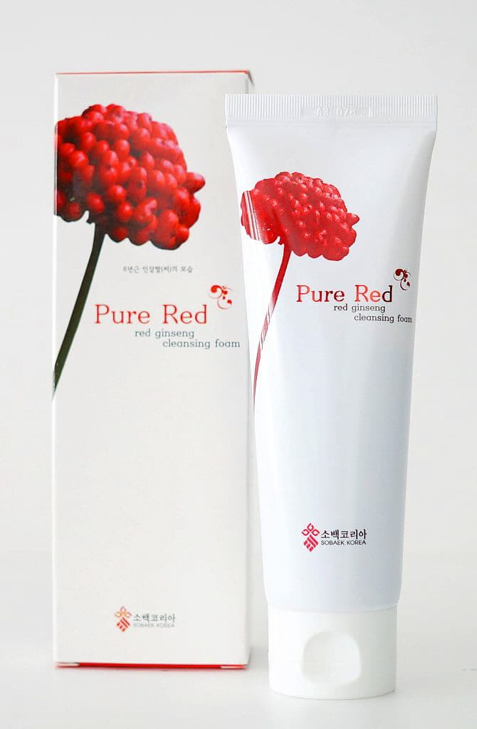 Red Ginseng Foam Cleanser