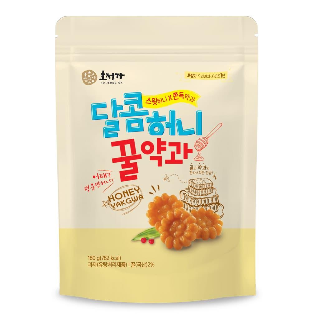 Hojeongga Sweet Honey Mini Yakgwa