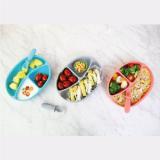 Edison Self Suction Food Tray _ Spoon Set