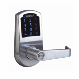 Stand-alone Push Button Lever Lock