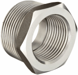 stainless ASTM A182 F309h hex head bushing