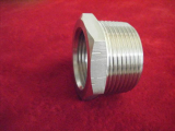 stainless ASTM A182 F321 hex head bushing