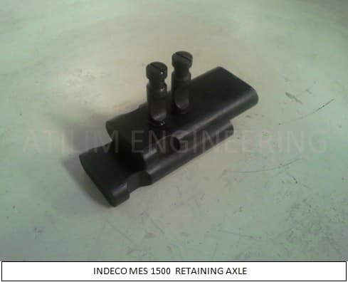 INDECO MES 1500 spare parts retaining axle