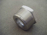 stainless ASTM A182 F347h hex head bushing