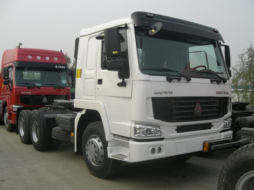 Tri Axle Roll Back : Tri axles prime mover truck from sino heavy machinery co