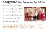 Sooryehan Hyo Fermented 3pc Gift Set