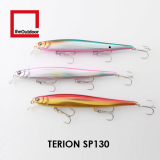 130mm Suspending Artificial Hard Bait Fishing Lure (Terion SP130)