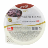 Clean rice Black Rice