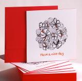 [Single Card -A6] Letterpress Card