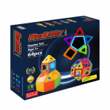 Magkinder Magnetic Building Blocks Starter Set 64pc