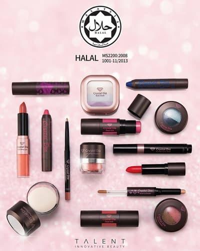 HALAL Korean Cosmetics Makeup Pearl Powder Brightening Clean