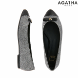 -Agatha- Scottie Petit Ribbon Flat