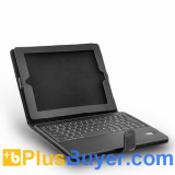 Leather Case + Bluetooth Keyboard for iPad/iPad 2 - Rechargeable