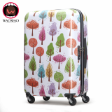 ABS PC trunk luggage made of 100_ new imported materail