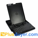 Adjustable Bluetooth Slider QWERTY Keyboard Case for iPad 2