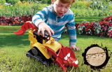 T-TOP -The Triceratops Bulldozer-