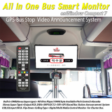 GPS-Bus Stop Video Announcement system