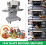 Simple vegetable fan shape packing machine