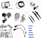 FILTERS_ FUEL PUMP_ WATER PUMP_ WIPER_ GASKET_ BELT_ HUB