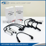All kinds of Spark Plug Cables for Korean Car - Miral Auto Camp Corp