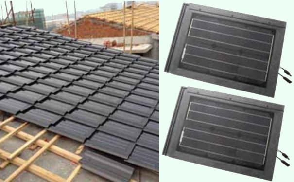 Solar Roof Shingles Solar Tile Pv Tile Solar Roof