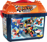 AUTO WORLD SET -Educational building block-