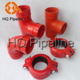 UL/FM Ductile iron grooved fittings and couplings