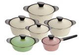 _KOREA KING_ Elegant Ceramic Cookware set