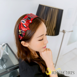 Renachris Hot Check headband _hairband_