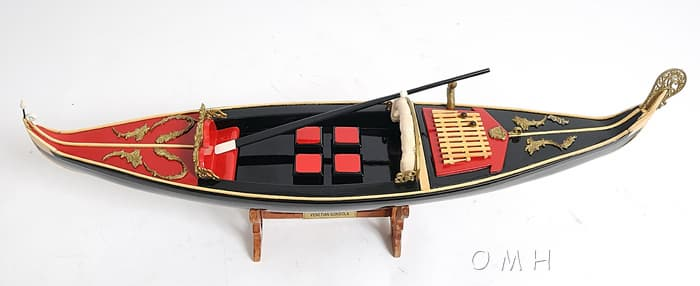 Wooden Model Boat Aircraft Carrier