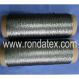 Stainless steel conductive sewing thread