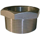 stainless ASTM A182 F304h hex head bushing