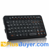 Ultra-thin Mini Bluetooth Qwerty Keyboard for Smartphone, iPad, Android, PS3