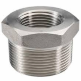 stainless ASTM A182 F304n hex head bushing