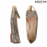 -Agatha- Separate Toe Smoking Shoes