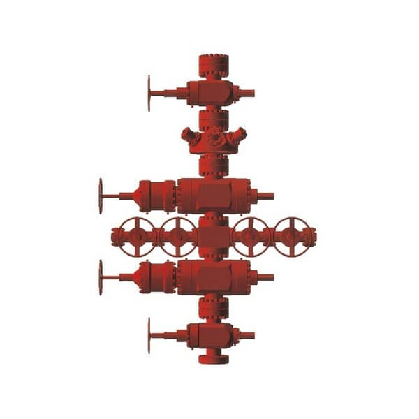 Wellhead Christmas Tree Diagram: WELLHEAD AND CHRISTMAS TREE