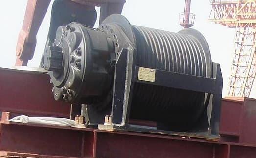 hydraulic winch marine winch piling rig winch | tradekorea