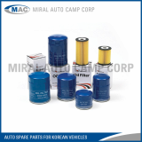 All Kinds of Oil Filters for Korean Vehicles - Miral Auto Camp Corp