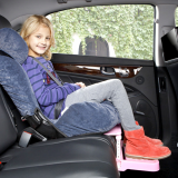 Child Car Seat Footrest and Booster Car Seat