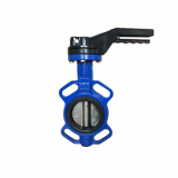 Cast Iron Rubber Seat Butterfly Valve