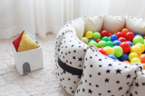 A Fabric Ball Pool_Rocket starry_