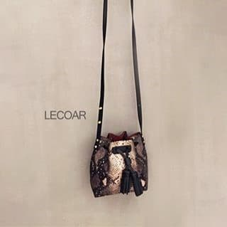 _LECOAR_ Korea Leather Bag