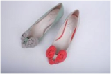 fashion flower casual flat shoes.