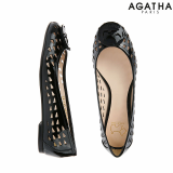 -Agatha- Signature Cut Out Punching Flat