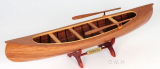 Wooden Model Boat Peterborough canoe