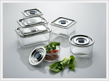 All Stainless Steel Multi-Purpose Airtight Container 6 Set
